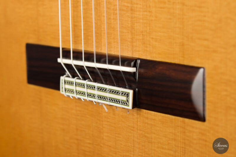 Classical guitar Vicente Carrillo Estudio Cedar 2021 8