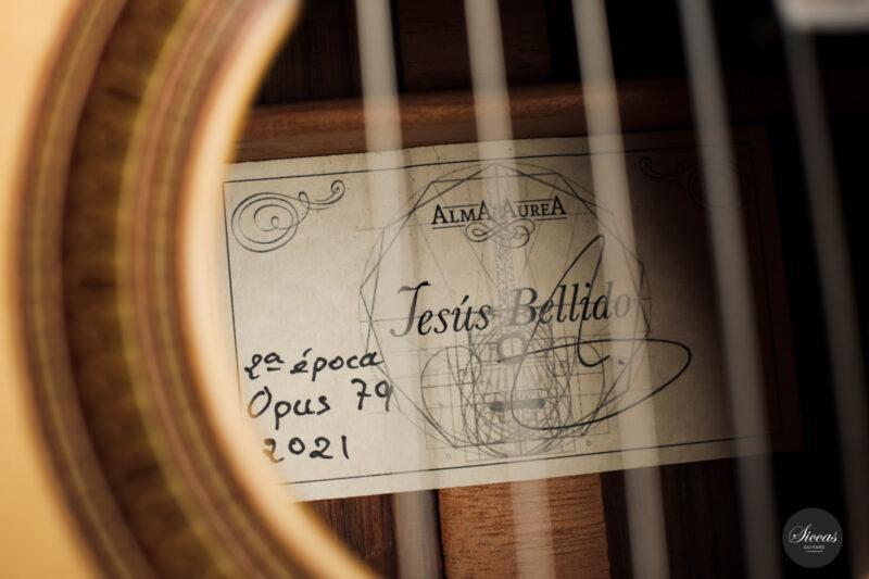 Classical guitar Jesus Bellido 2021 3