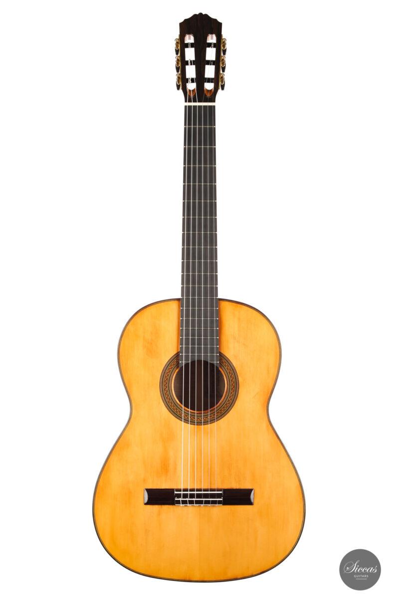 Classical guitar Wolfgang Jellinghaus Segovia Spruce Maple 2015 1