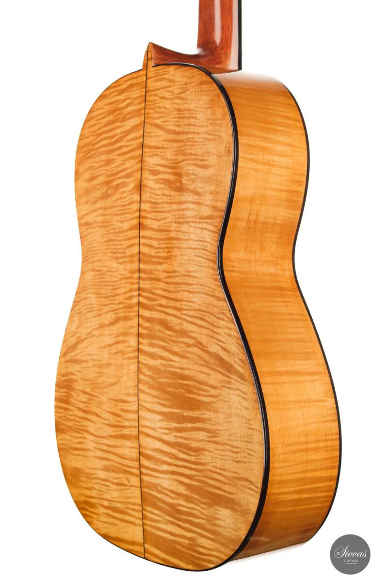 Classical guitar Wolfgang Jellinghaus Segovia Spruce Maple 2015 11