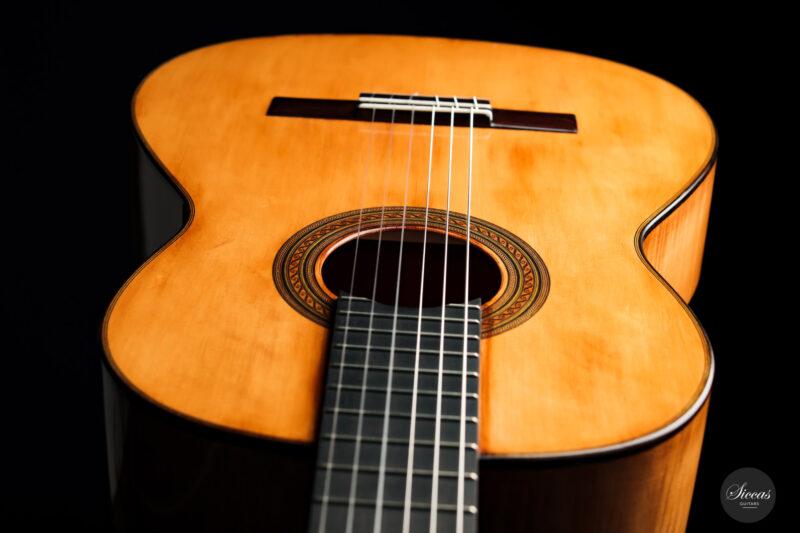 Classical guitar Wolfgang Jellinghaus Segovia Spruce Maple 2015 16