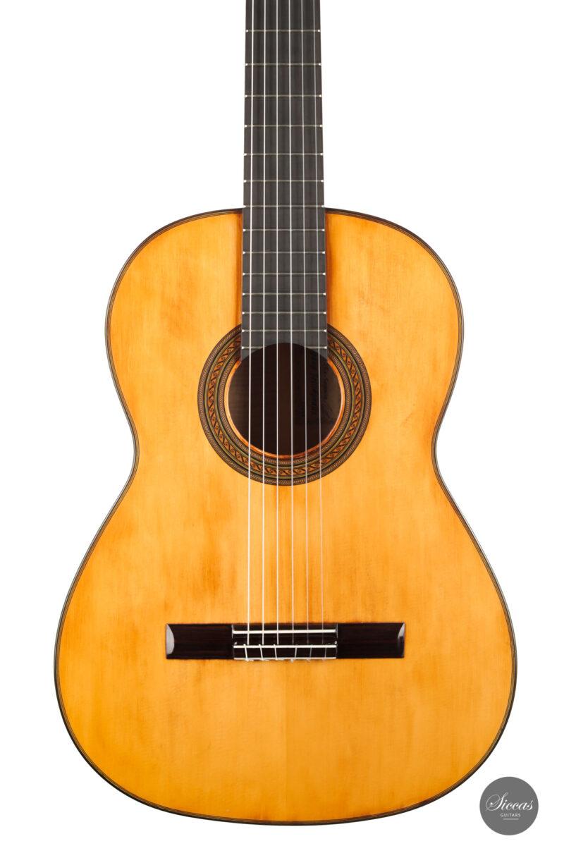 Classical guitar Wolfgang Jellinghaus Segovia Spruce Maple 2015 2