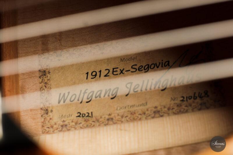 Classical guitar Wolfgang Jellinghaus Segovia Spruce Maple 2015 22