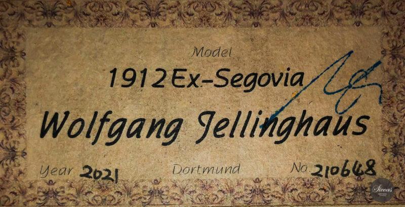 Classical guitar Wolfgang Jellinghaus Segovia Spruce Maple 2015 23
