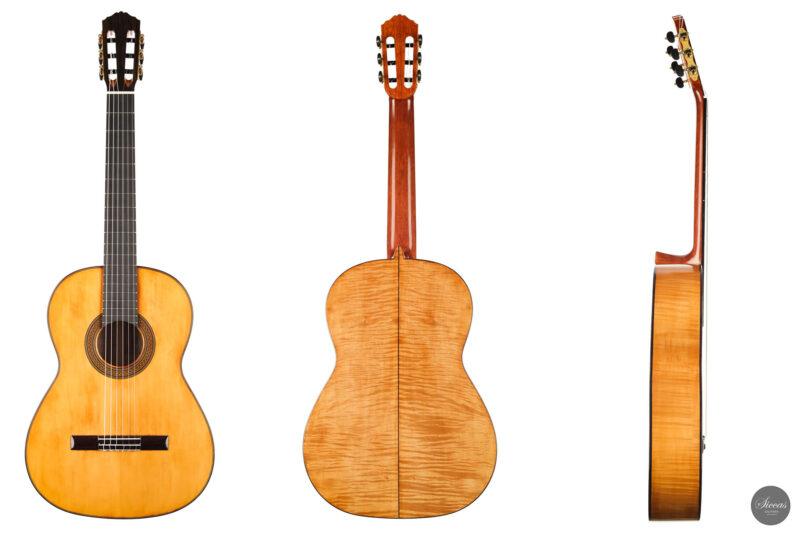 Classical guitar Wolfgang Jellinghaus Segovia Spruce Maple 2015 25