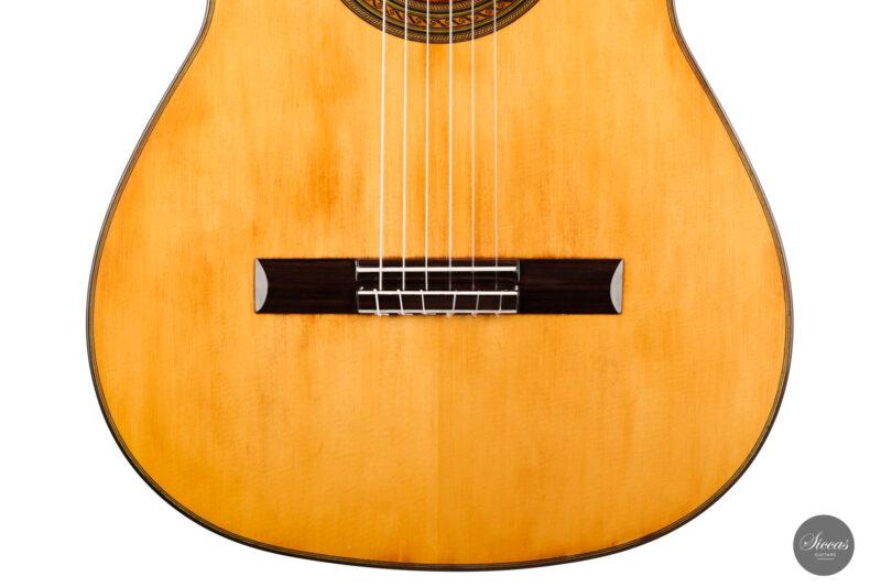 Classical guitar Wolfgang Jellinghaus Segovia Spruce Maple 2015 6